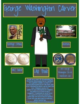 George Washington Carver Lap Book