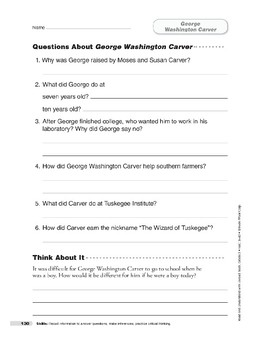 George Washington Carver (Lexile 710)