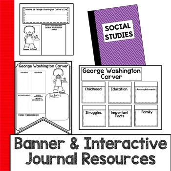 George Washington Carver Research Guides and Flip Book