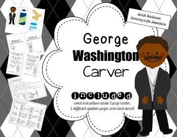 George Washington Carver {Mini Unit}