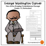 Black History Month Reading Passage - George Washington Carver