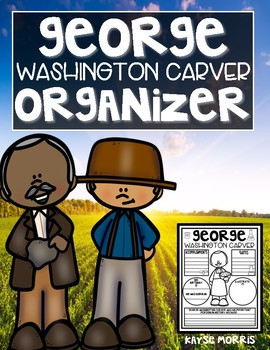 George Washington Carver Organizer Black History Month Activities