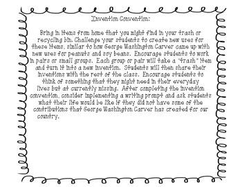 George Washington Carver Packet Printable