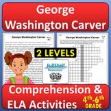 George Washington Carver Passage Black History Month Readi