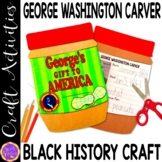 George Washington Carver Peanut Butter Jar(Black History; Scientists)