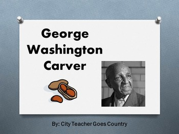 George Washington Carver Power Point (Peanuts)