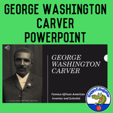 George Washington Carver PowerPoint with Comprehension Questions Black History