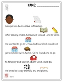 George Washington Carver - Reading Passage