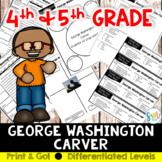 George Washington Carver Reading and Writing Activity (SS5