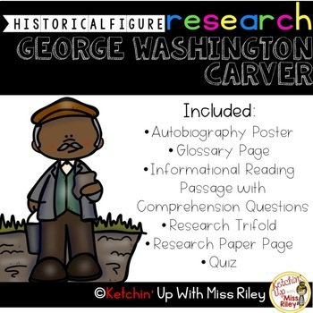 George Washington Carver Research Packet