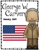George Washington Carver Biography Research Bundle {Report, Trifold, & MORE!}