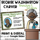 George Washington Carver Activities (First Grade)
