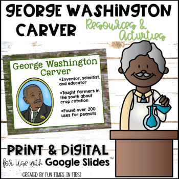 George Washington Carver {Resources to Support Research}