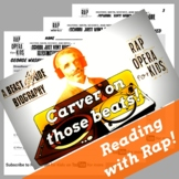 George Washington Carver Sequence of Events Reading Passage Worksheet & Rap Song