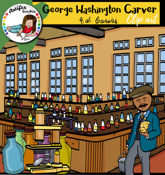 George Washington Carver clip art