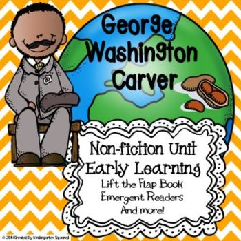 George Washington Carver for Early Learners:  Black History Month