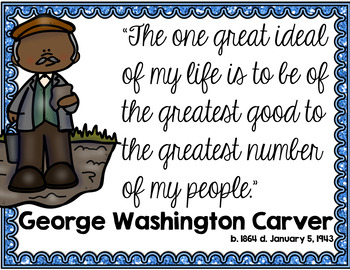 George Washington Carver for Primary Grades