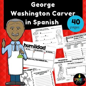 George Washington Carver in Spanish (Actividades / Escritura)