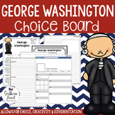 US Presidents - George Washington Choice Board