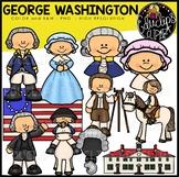 George Washington Clip Art Bundle {Educlips Clipart}