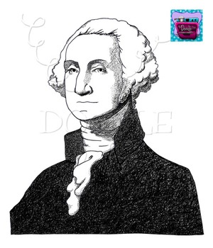 George Washington Clipart - Realistic Image