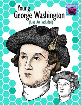 George Washington Clipart (young) - Realistic Image