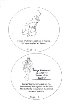 George Washington Coin Booklet