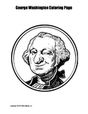 George Washington Coloring Page Bundle
