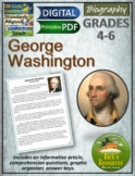 George Washington Reading Comprehension