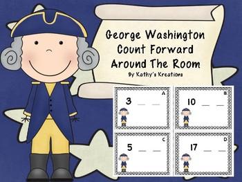 George Washington Count Forward Around The Room