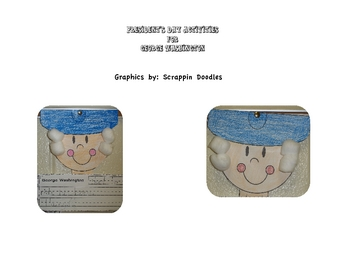 George Washington Craft & Worksheets