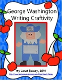 George Washington Writing Craftivity with Literacy Activities and More