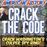 George Washington & Culper Ring Escape Room: Crack Culper Spy Ring! Engaging!