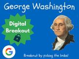 George Washington - Digital Breakout! (Escape Room, Brain Break, Presidents)