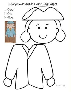 George Washington Emergent Reader and Craftivity