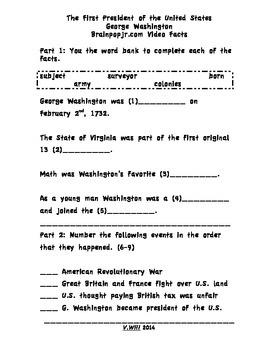 George Washington Fact Find