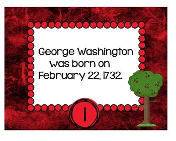 George Washington Fact or Opinion Station