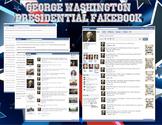 George Washington Fakebook Facebook Page 1st Term of Presidency
