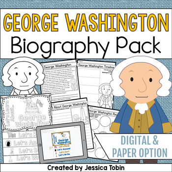 George Washington Biography Pack