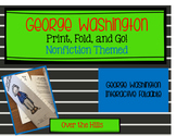 George Washington Foldables: Print & Go Nonfiction Themed