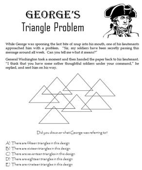 George Washington:  Games and Printables for Presidents' Day