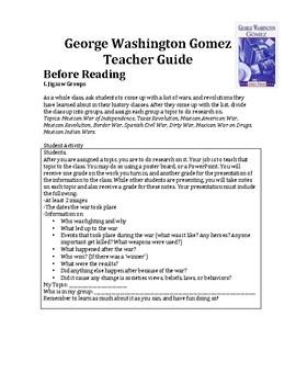 George Washington Gomez Teacher Guide