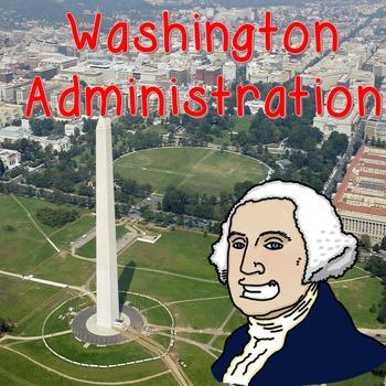 President Washington Graphic Organizer