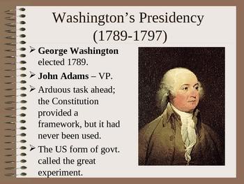George Washington & Hamilton Power Point