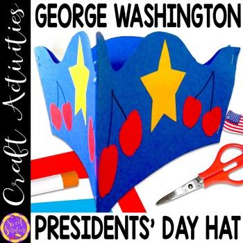 Presidents Day George Washington Hat