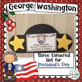 Presidents Day George Washington Hat Craft