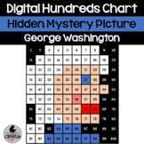 George Washington Hundreds Chart Hidden Picture Activity for Presidents' Day