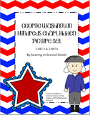 George Washington Hundreds Chart Hidden Picture Set