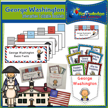 George Washington Interactive Foldable Booklets - EBOOK