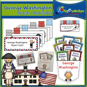 George Washington Interactive Foldable Booklets - EBOOK
